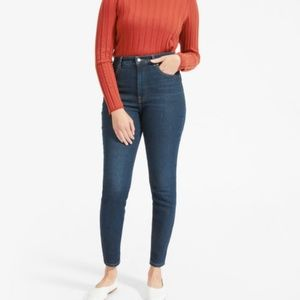 Everlane Authentic Stretch High Rise Skinny Jean
